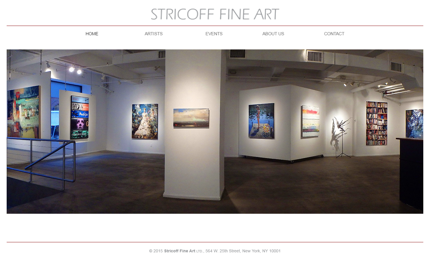 Stricoff Fine Art Gallery  Chelsea NY  Paintings sculpture